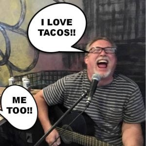 Billy Peifer Loves Tacos