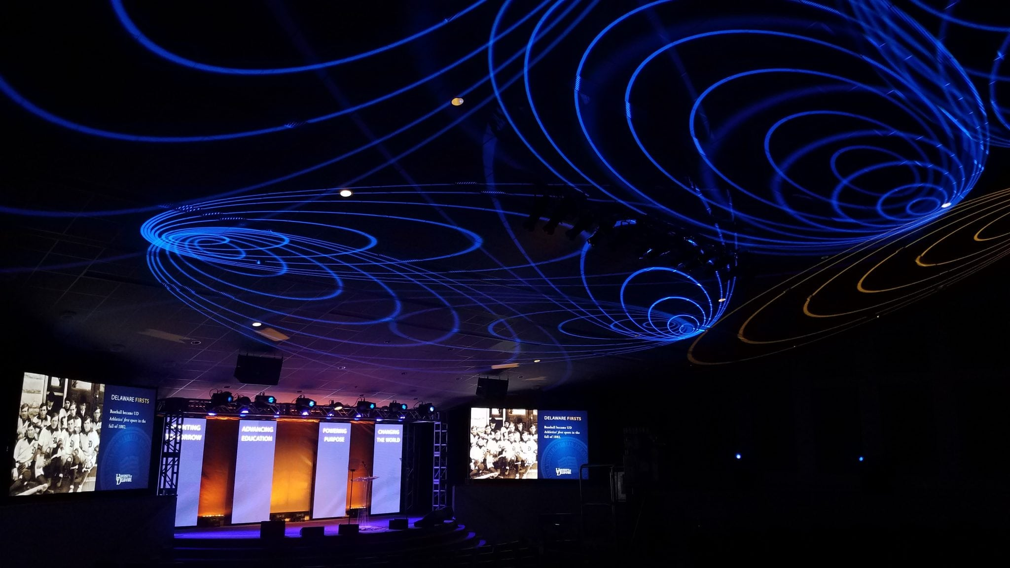 Custom Gobo Lighting Wired Production Group
