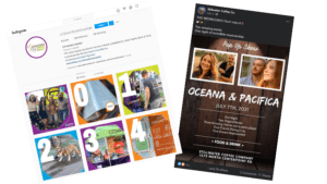 examples of automated social media posts